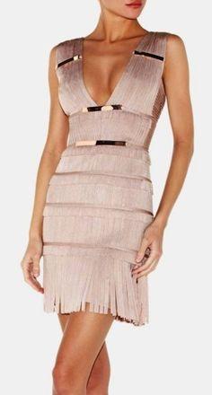 HERVE LEGER DRESS @Michelle Flynn Flynn Flynn Coleman-HERS