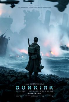 I literally watched Dunkirk the week it came out and let me tell you it was STUNNING!! The visuals were fabulous and the soundtrack was on point!! Thank you Hans Zimmer for making it that much more perfect!!