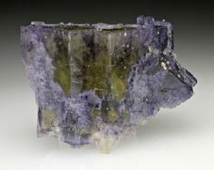 Fluorite with Chalcopyrite from Illinois