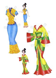 Mulan Paper Doll | Disney Princess Mulan Free Printables, Downloads and Activities | SKGaleana