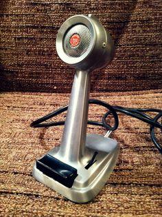 Vintage PA Microphone