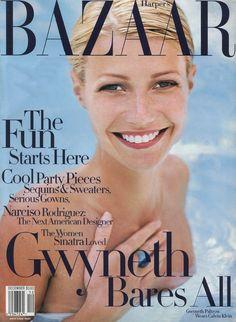 ☆ Gwyneth Paltrow | Photography by Patrick Demarchelier | For Harper's Bazaar Magazine US | December 1997 ☆ #gwynethpaltrow #patrickdemarchelier #harpersbazaar #1997