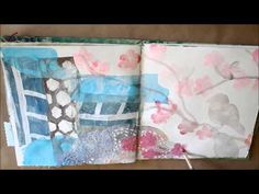Art Journal Page - Cherry Blossom