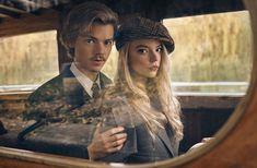 Anya Taylor-Joy and Thomas Brodie-Sangster - Netflix Queue Photos