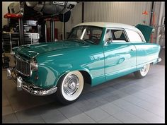 1955 Nash Rambler...Re-Pin brought to you by Car Insurance for #ClassicCarsandRV's by #HouseofInsurance Eugene, Or.