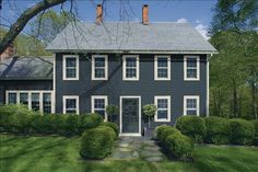 Duxbury Gray Hc 163 By Benjamin Moore House Colors