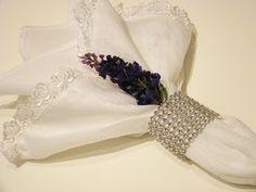 suporte prata com flor de lavanda natural, (opcional)