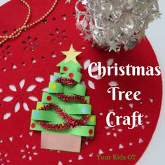 Adorable EASY Christmas Tree Craft! Your Kids OT