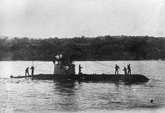 WWI, Oct 1916; Crown Prince Boris on board a Bulgarian submarine. ©IWM