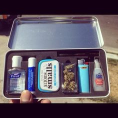 survival to-go kit!   ( marijuana cannabis )