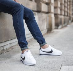 Nike Classic Cortez Premium White