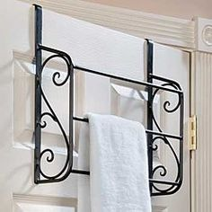 Scroll Over The Door Towel Rack Review At Kaboodle