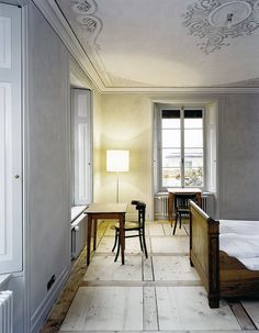 Miller Maranta - Villa Garbald, Castasegna 2004. A favorite; the relation to the historic Gottfried Semper house and surrounding structures is beautifully executed. Via, photos © Reudi Walti.