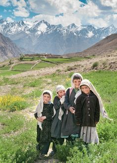 Village located 10,000 feet altitude high in the Hindu Kush Mountains in northeast Afghanistan, and a 10-hour drive on dirt roads to the closest city.