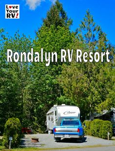 Rondalyn RV Resort Review by the Love Your RV! blog - We thoroughly enjoyed our brief time there and it will definitely be on the radar when choosing a Vancouver Island RV Park destination in the future. Thumbs up from Love Your RV! http://www.loveyourrv.com/rondalyn-rv-resort-review/ #RVing #camping @ParkbridgeLife