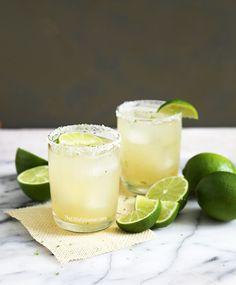 Thirsty Thursday: Fresh Lime Margarita - The Little Epicurean