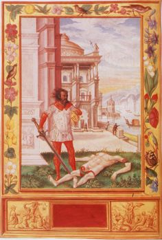 Splendor Solis 10: Severing the Limbs of the King.