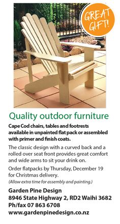 manufacturer of luxuriously calibre adirondack chairs out of door