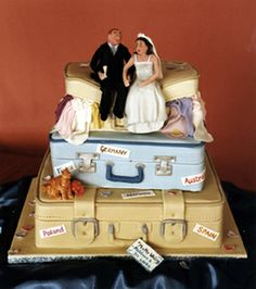 designercakes.co.uk - Suitcases