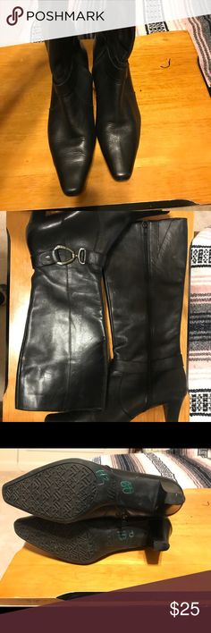 Anne Klein Boots Boots, purchased from another seller but they were too snug. They are in great shape with lots of life remaining. Anne Klein Shoes Heeled Boots