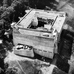 by @archiveofaffinities Le Corbusier, Sainte Marie de La Tourette, Lyon, France, 1956-1960