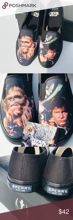 SPERRY Unisex Star Wars Cloud Slip-On Chewie /& Hans Shoe