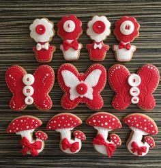 Martenitsa Cookies - Cake by sansil (Silviya Mihailova)