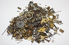 10 g grams Vintage Steampunk Watch Parts   100 by Nixcreations, $11.99