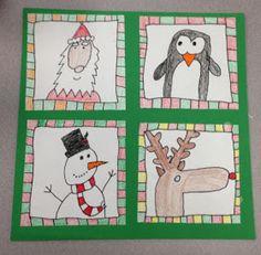 Apex Elementary Art: Xmas Doodles