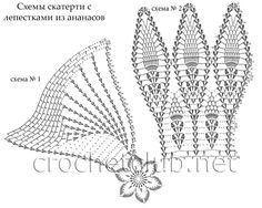 Gorgeous Table Decor - Page 2 of 2 - Crochet Filet Crochet Placemat Patterns, Crochet Doily Rug, Crochet Books, Crochet Stitches Patterns, Thread Crochet, Stitch Patterns, Crochet Diagram, Crochet Chart, Crochet Trim