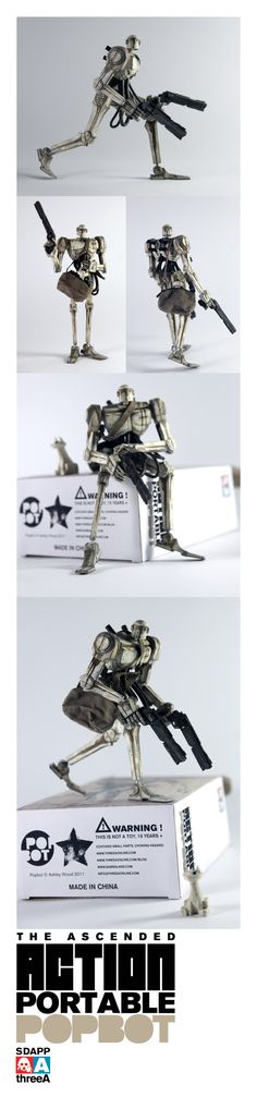 More toy delights from Ashley Wood and 3A!