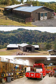 Barns, riding arenas and run-in shelters. Build an equine paradise with Morton Buildings.