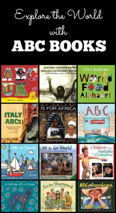 ABC Books Around the World (from Fantastic Fun & Learning)