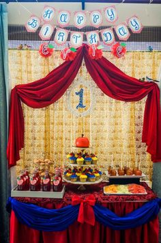 snow white birthday theme- first birthday