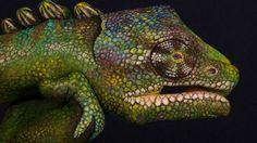 Pintura de animales increibles