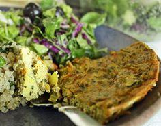 Tofu Veggie Frittata