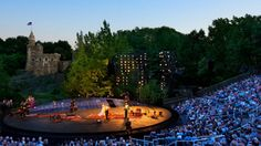 shakespeare in the park [central park] - 2013