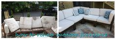 how to rehab outdoor furniture