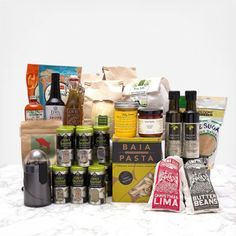 Epicurean Pantry Starter by Out of the Box Collective to keep your kitchen stocked.