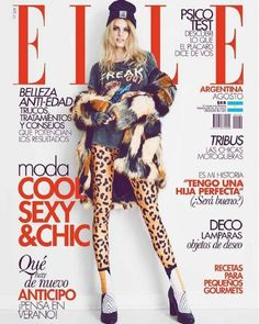 Kristin Kagay, Elle Magazine [Argentina] (August 2016)