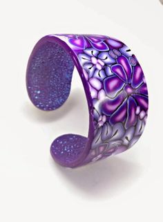 Polymer Clay Tutorial: How to Create a Polymer Clay Cuff Bracelet | Beadazzle Me Polymer Jewelry Blog