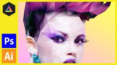 In this tutorial I am going to demonstrate how you can create a polygonal portrait in adobe photoshop with the aid of Adobe illustrator. Step 1 - Preparation...