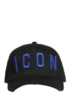 513bb10a DSQUARED2 EMBROIDERED ICON BASEBALL CAP. #dsquared2. ModeSens Men