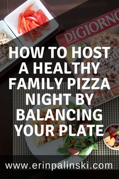 I'm not going to lie, I look forward to pizza night every week. It's our Friday evening routine as we wrap up a hectic week. #healthymom #fitmom #healthandfitness #momhacks #healthandwellness #healthandnutrition #nutrition #healthymeals #healthymealplan #healthylife #fitnessfood #healthyeating