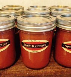 Spicy Jalapeno Ketchup