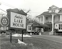 Andre's Lake House - and this was my 1st job - as a dishwasher. Right around the time this was taken, even.