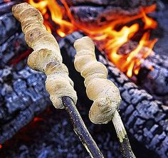 Campfire Hobo breadsticks is a favorite camping and campfire treat recipe that kids love to make.