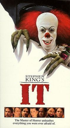 Stephen King's IT Movie Version with Tim Curry and John Ritter, amongst other famous actors and actresses