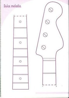 1000 images about bbirthday on pinterest rock star for Guitar cut out template