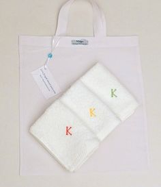 Baby Shower Gift 3 Pieces Towel Set  Bath Towels  Embroidered Terry Wipes Monogram Baby Towel Greek Cotton by VirgoCottonLinen on Etsy  #BabyShowerGift #BabyWipes #BabyTowels #BurpClothes #PersonalizedBaby
